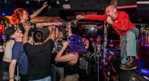 Rock band performs at Blind Pig.
