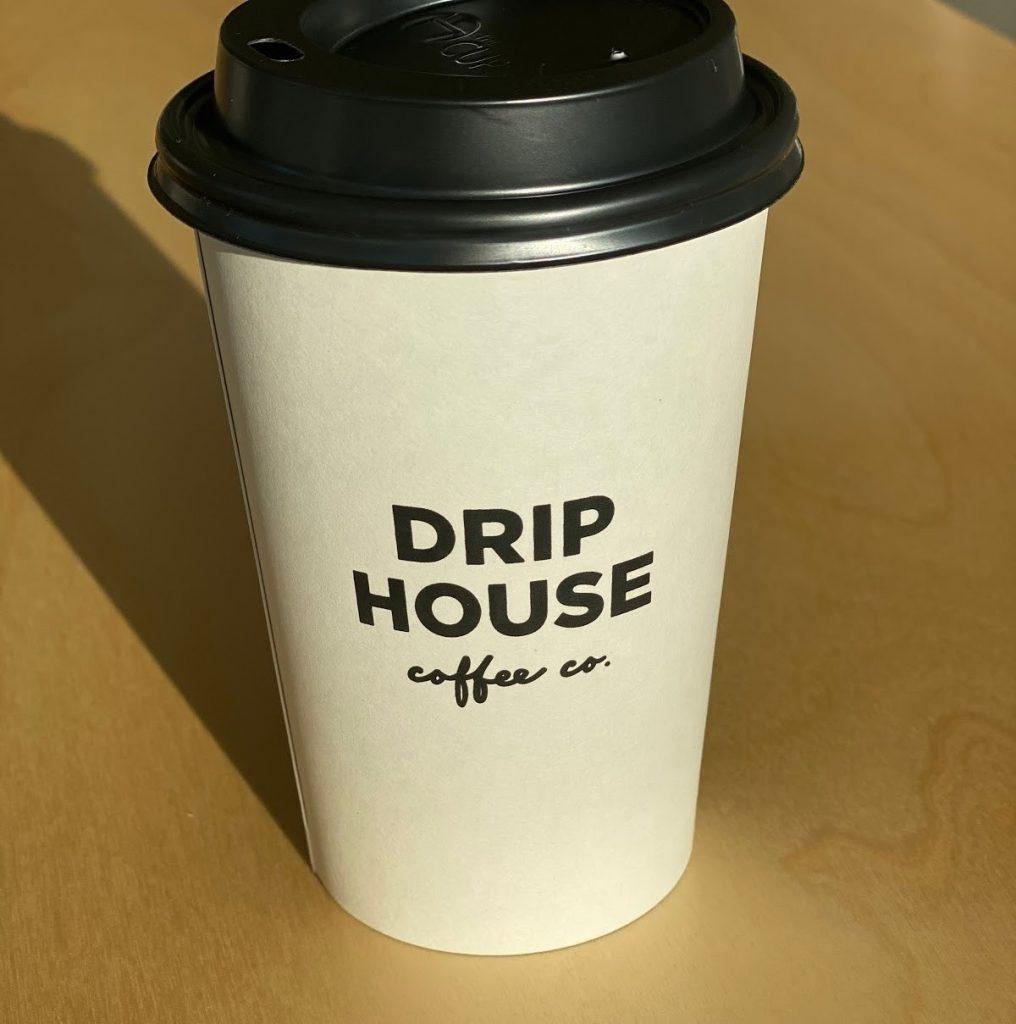 drip house coffee cup