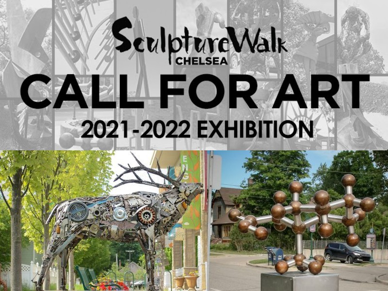Scuplturewalk chelsea art festival and events